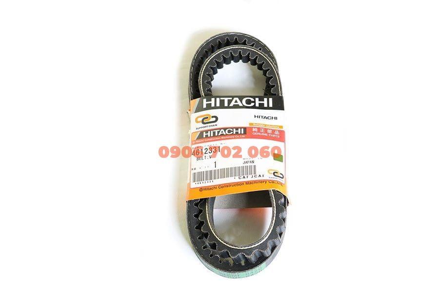 Dây đai điều hòa chữ V cho máy đào Hitachi ZX350LC