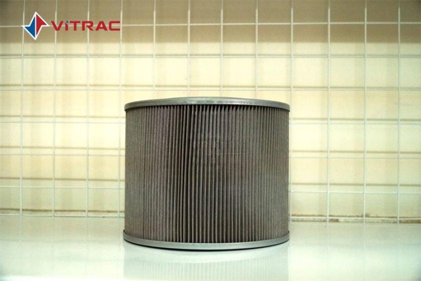 Lọc thùng dầu thủy lực cho máy đào Hitachi