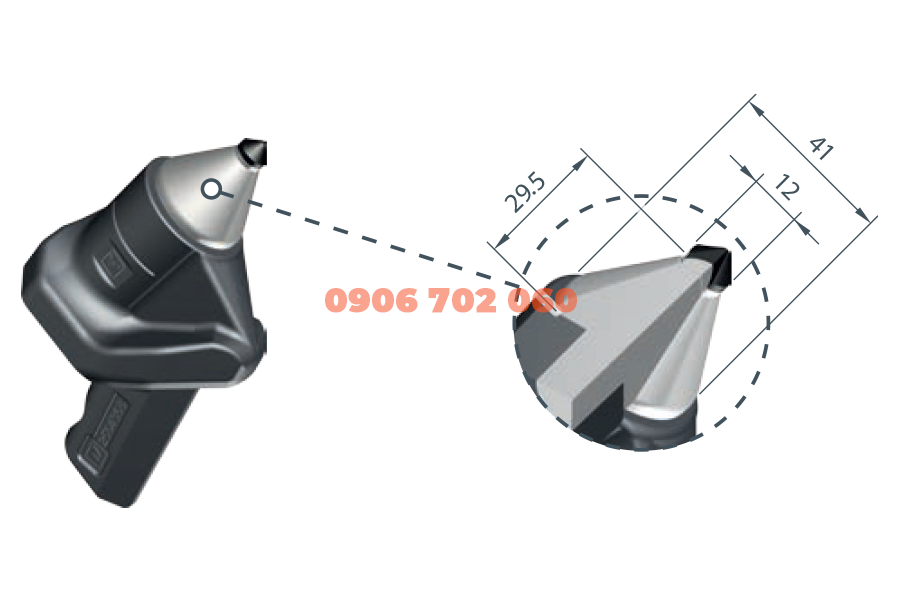 PCD Milling Tool WD2-12F/ HT11