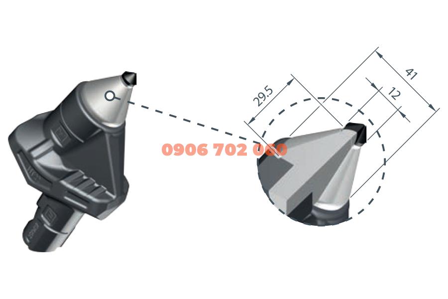 PCD Milling Tool WD2-12F/ HT22
