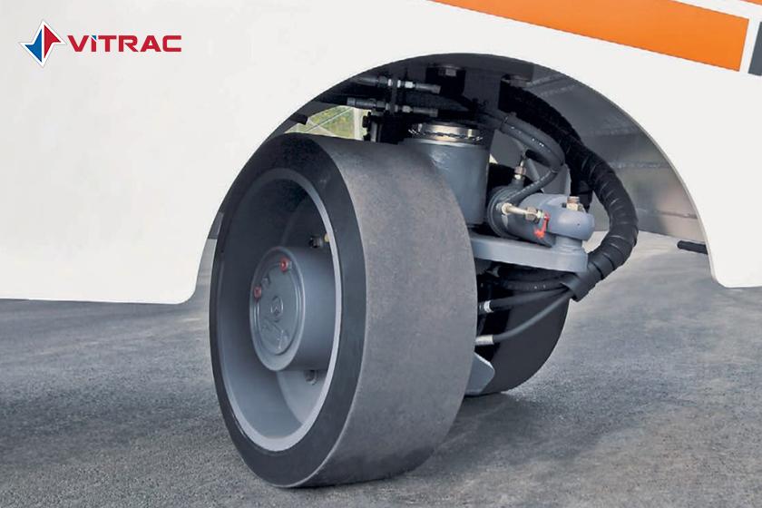 bánh xe cào bóc wirtgen loại lốp đặc
